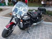 Motocykl.