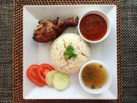 Ryż z kurczaka 1