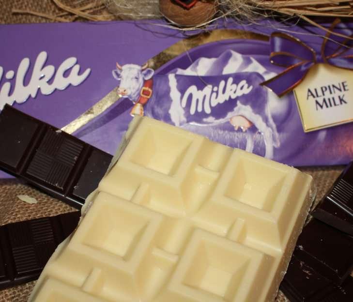czekolada puzzle ze zdjęcia