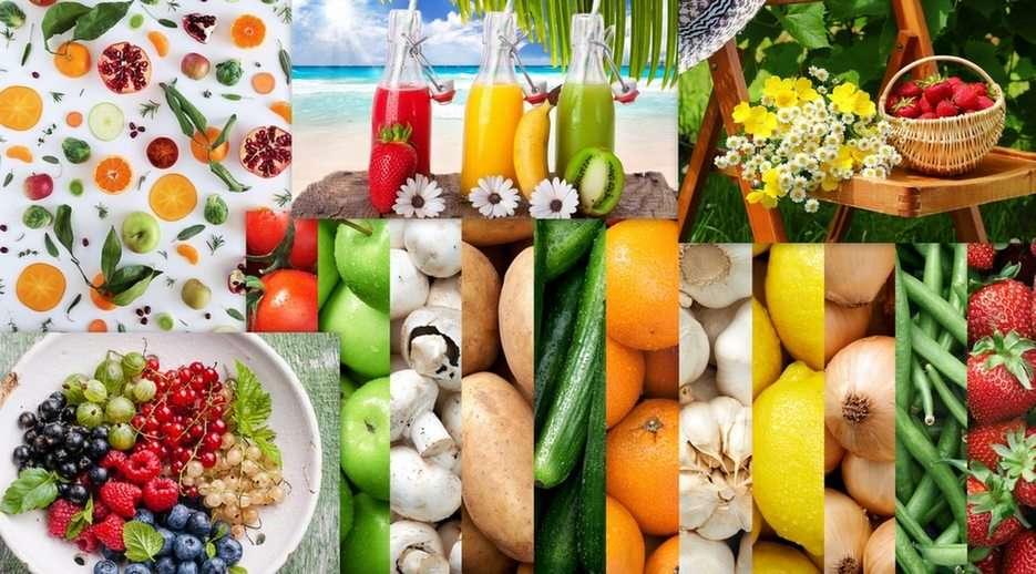 Warzywa i owoce puzzle online