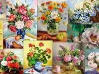 Kwiaty - malarstwo