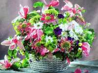 Kosz kwiatów