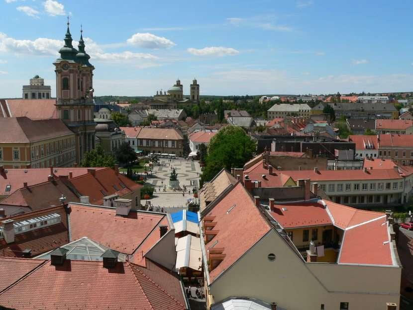 Rynek w Eger Węgry