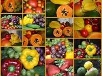 owoce - kolaż