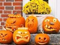 Citrouille d'Halloween4 puzzle ze zdjęcia