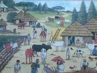 Wioska Etiopska