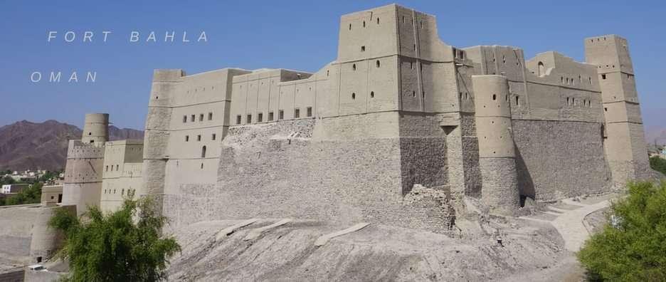 Twierdza w Omanie