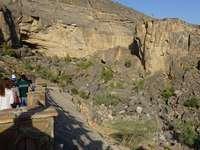 Góry w Omanie