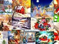bajkowe święta puzzle ze zdjęcia
