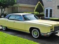 Lincoln Continental - 1972 puzzle ze zdjęcia