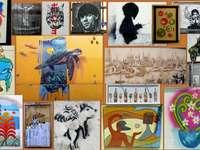 murale puzzle ze zdjęcia