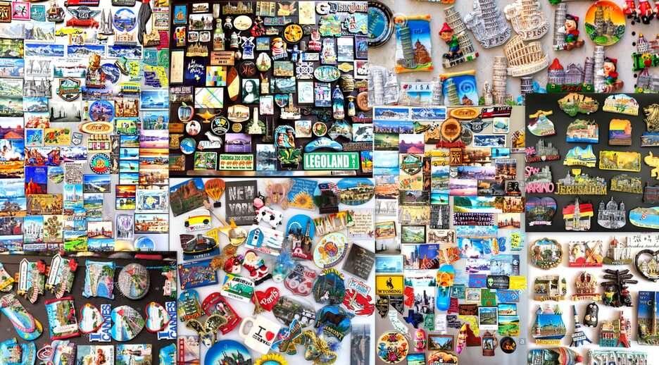 magnesy na lodówkę puzzle ze zdjęcia