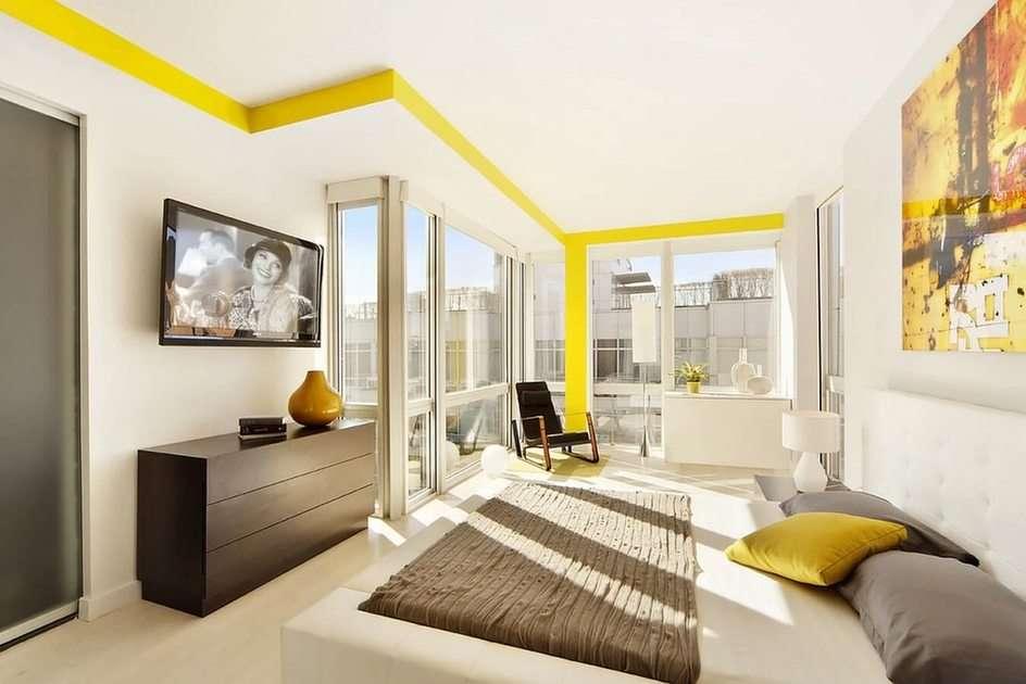 Żółty odcień