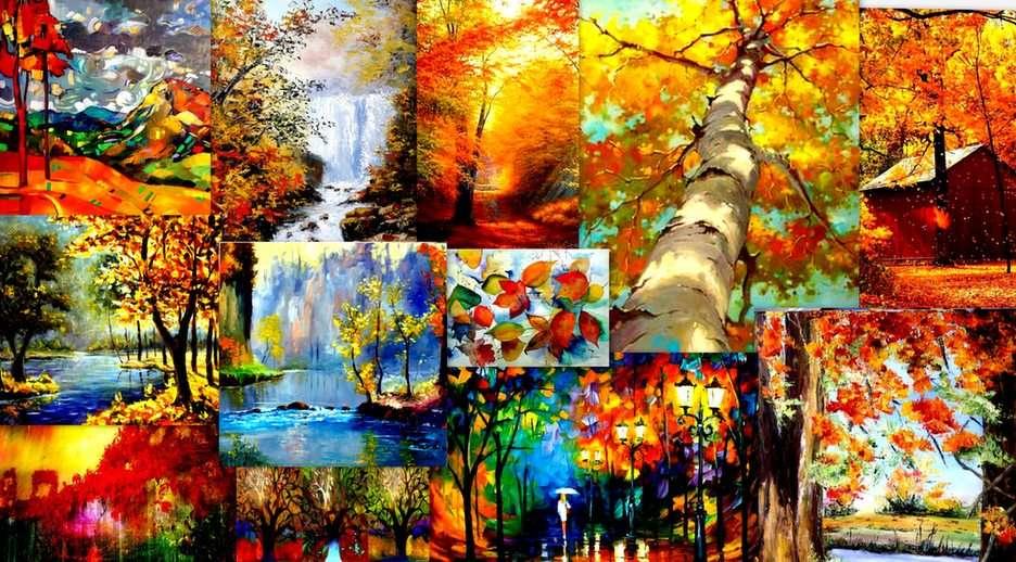 jesień w malarstwie