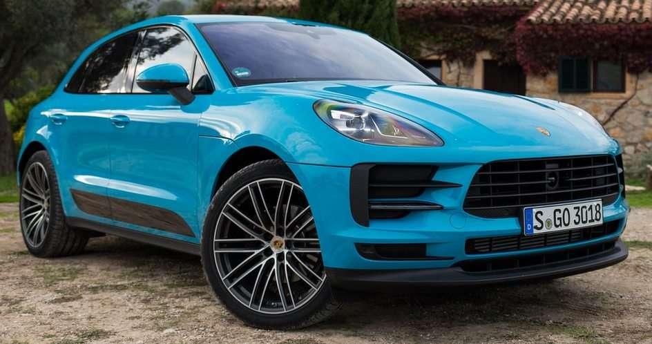 Porsche - niebieski puzzle online