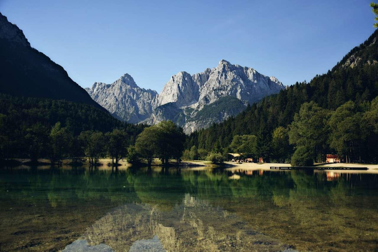 Jezioro Jasna (Słowenia) puzzle