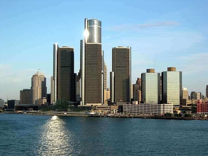 Detroit, Michigan - Centrum Renesansu