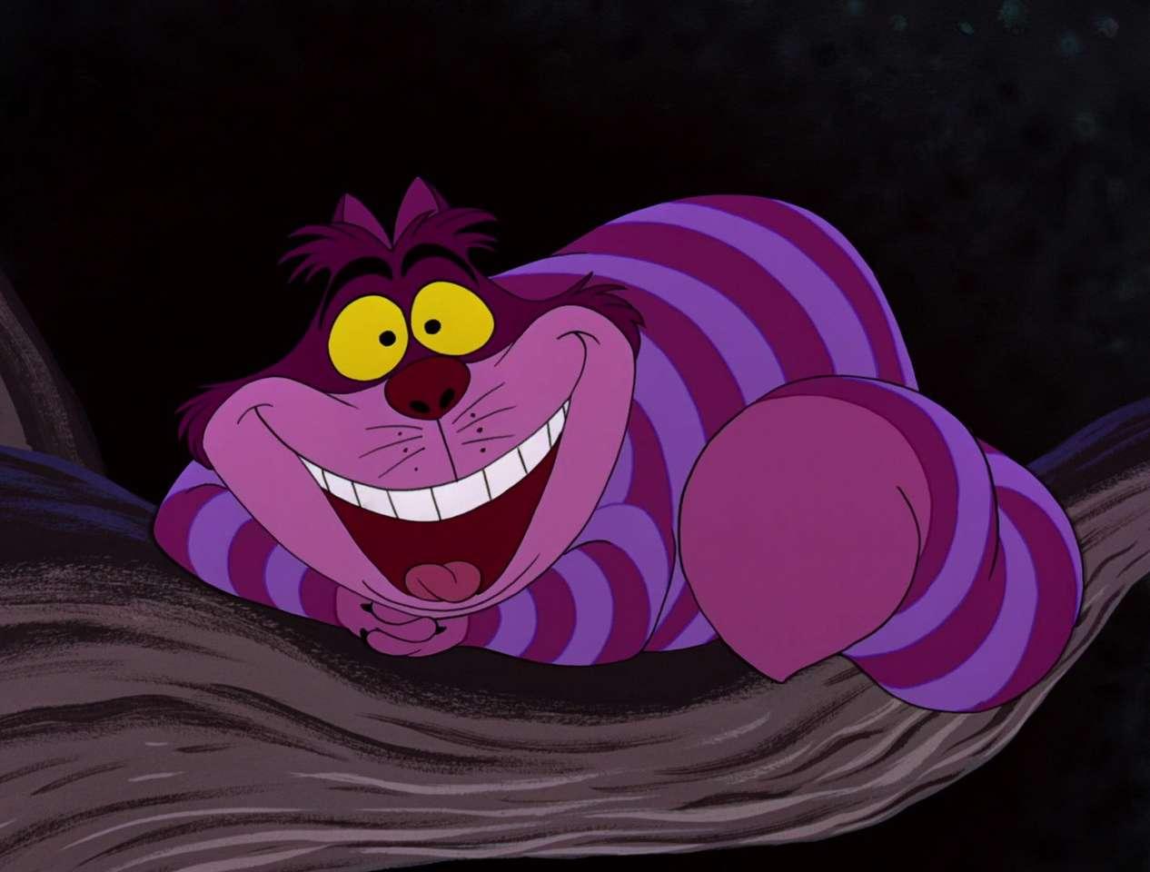 Kot z Cheshire puzzle