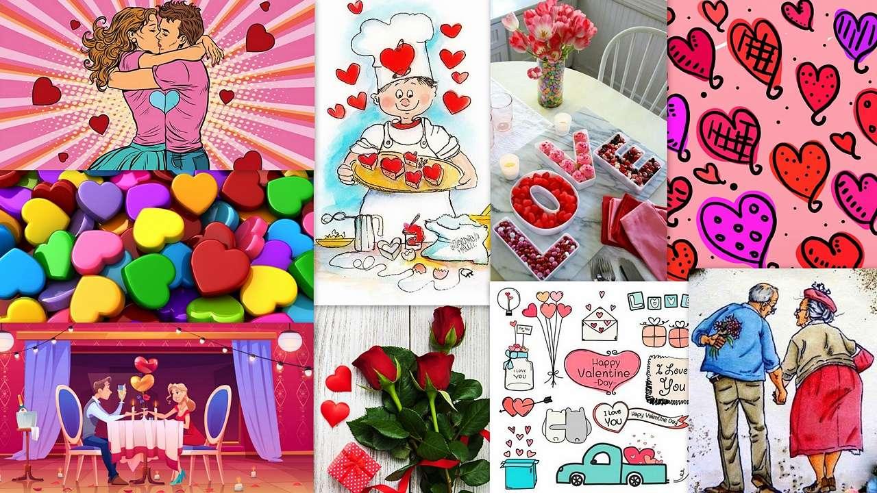 Walentynki - Miłych Walentynek drodzy puzzlowicze ;) :) (19×11)