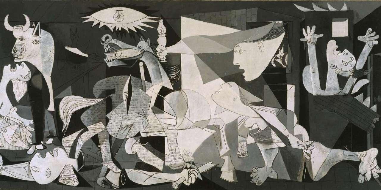 Guernica puzzle ze zdjęcia
