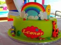 Tort na przyjęcie dla dzieci