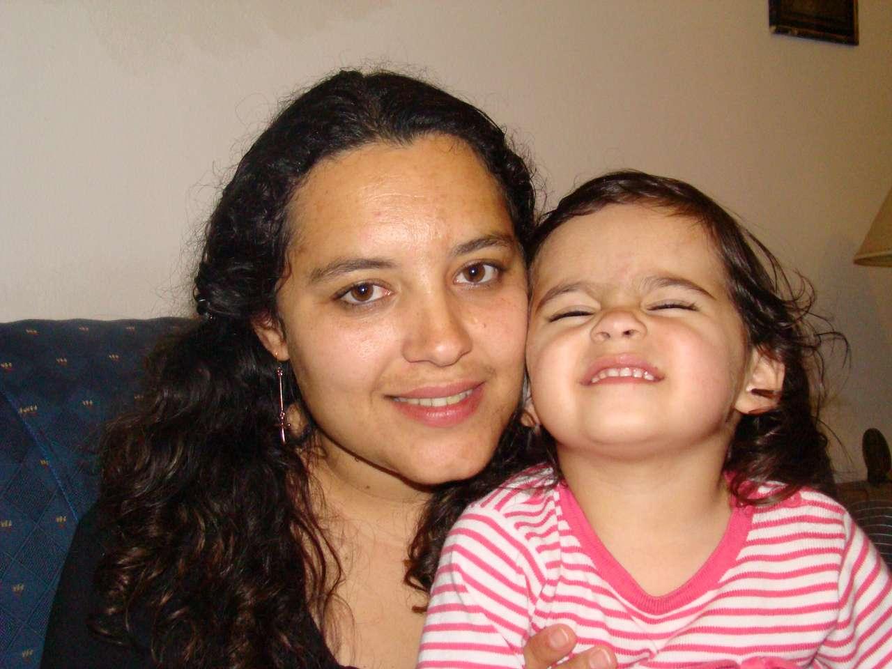 eu e minha mama