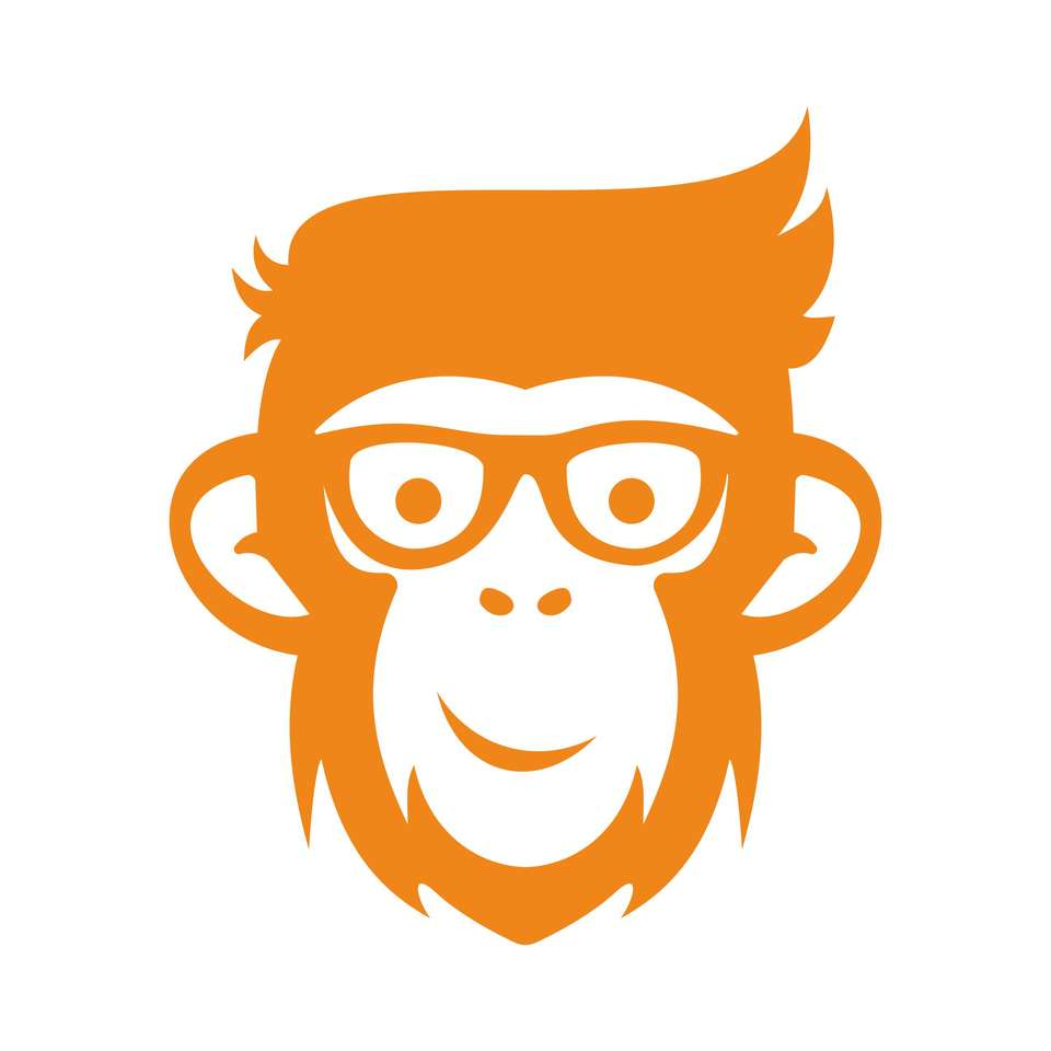 pomarańczowa małpa