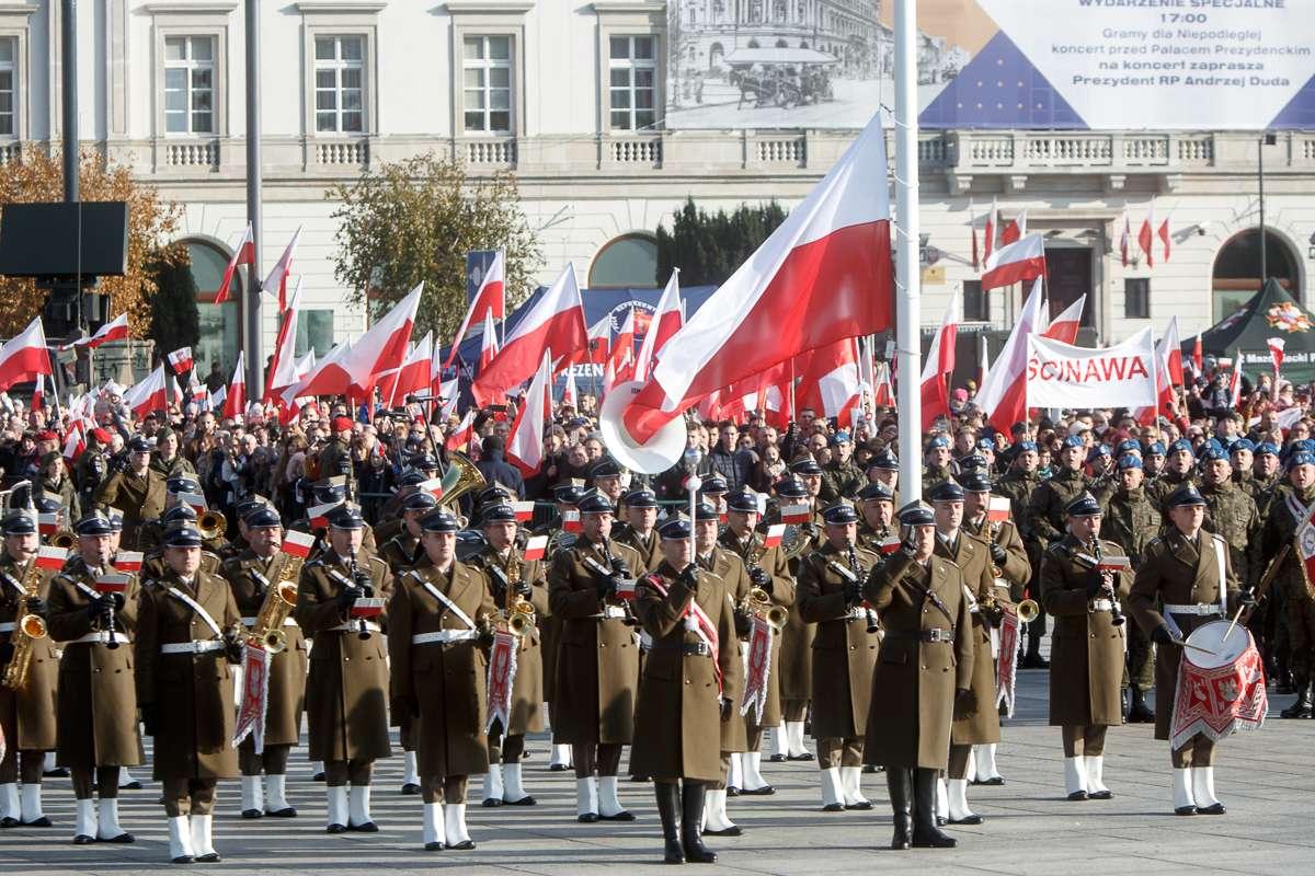 Święto Niepodległości puzzle ze zdjęcia