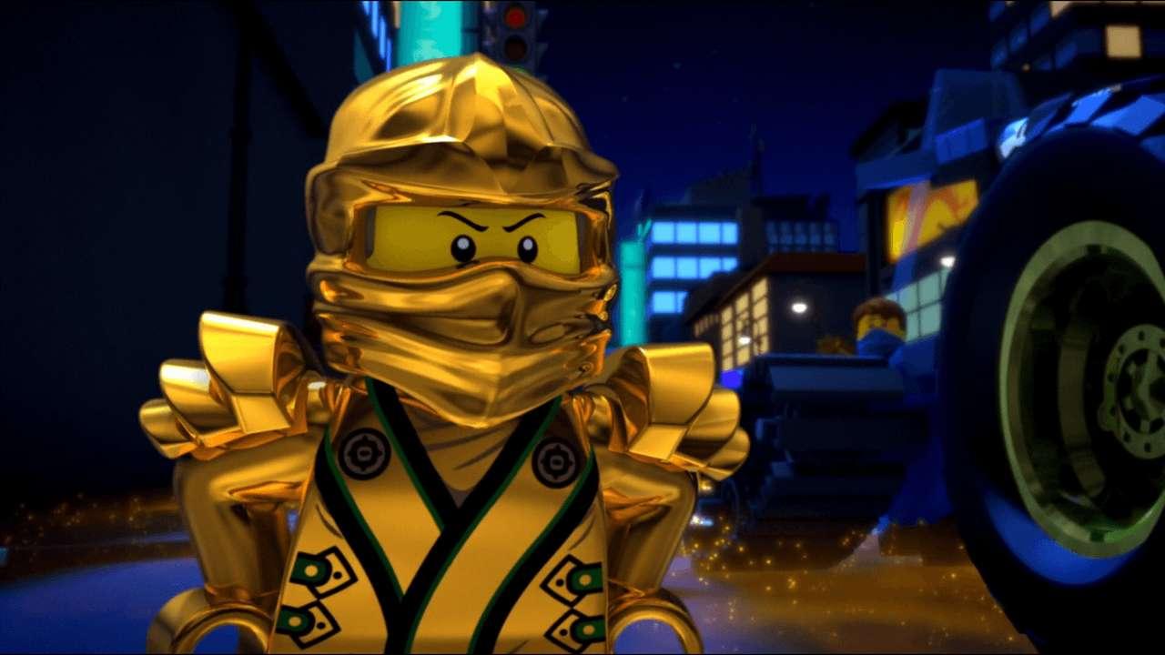 Legacy Ninja Lloyd puzzle online