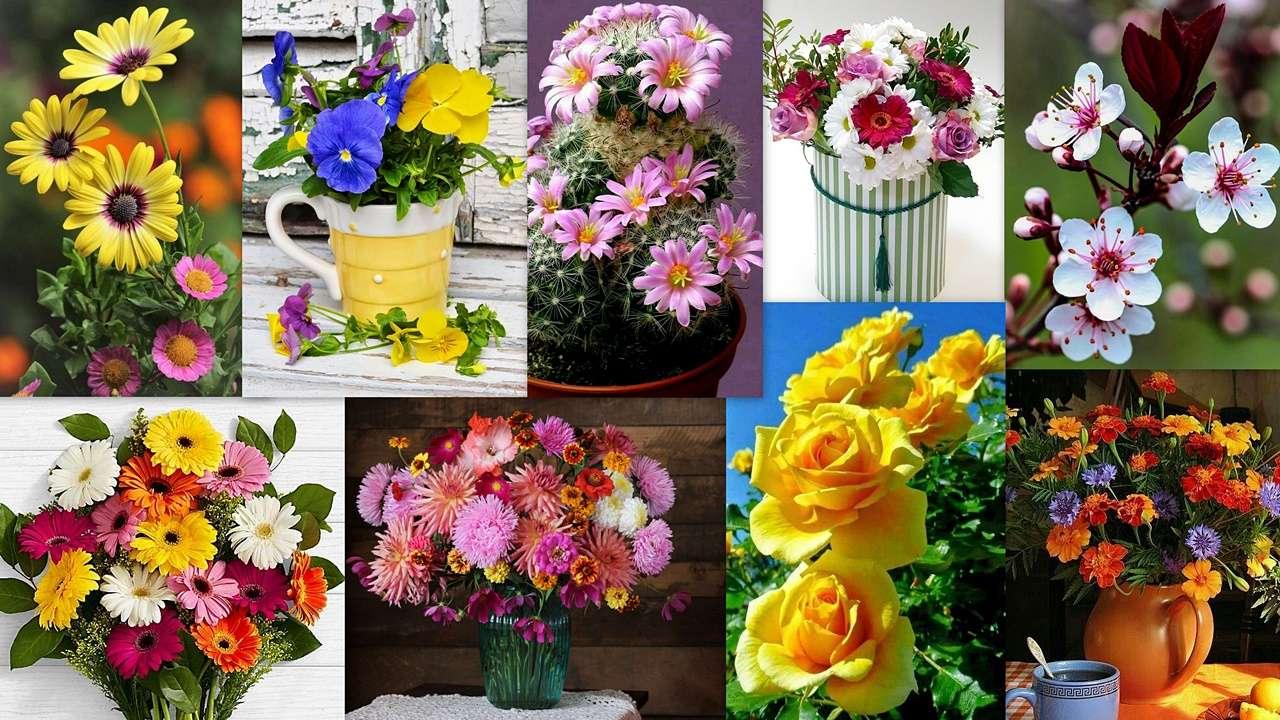 Kwiatowy Mix puzzle