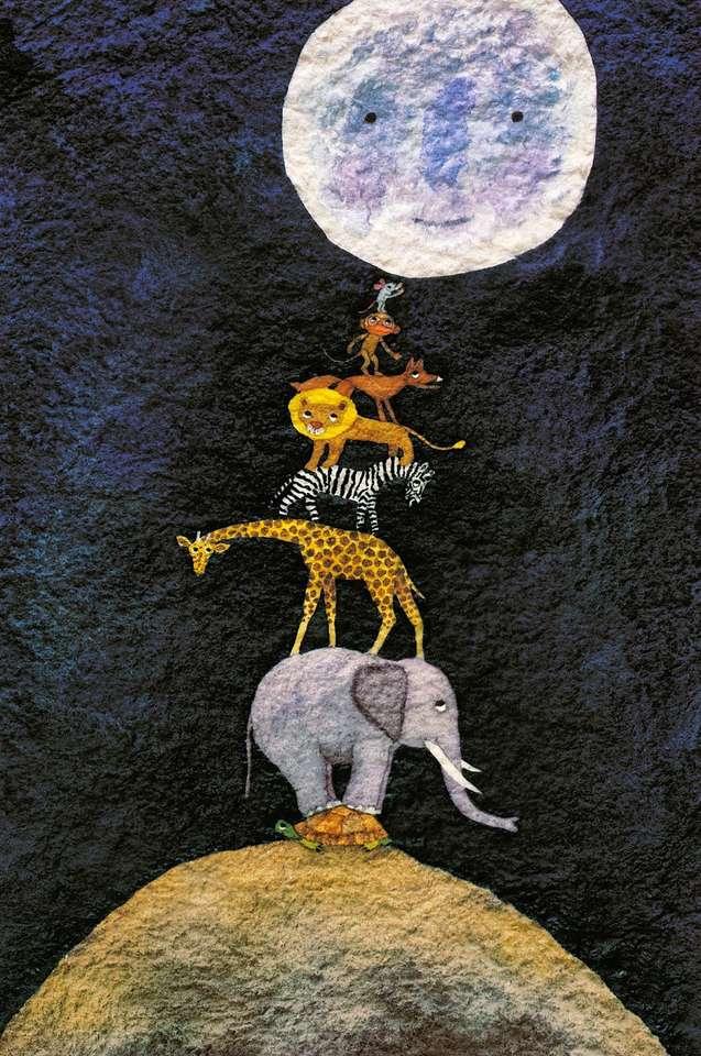 a que sabe la luna puzzle ze zdjęcia