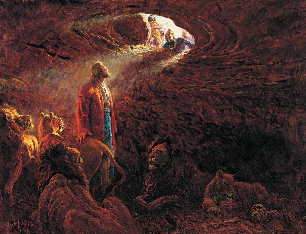 Daniel w jaskini lwa