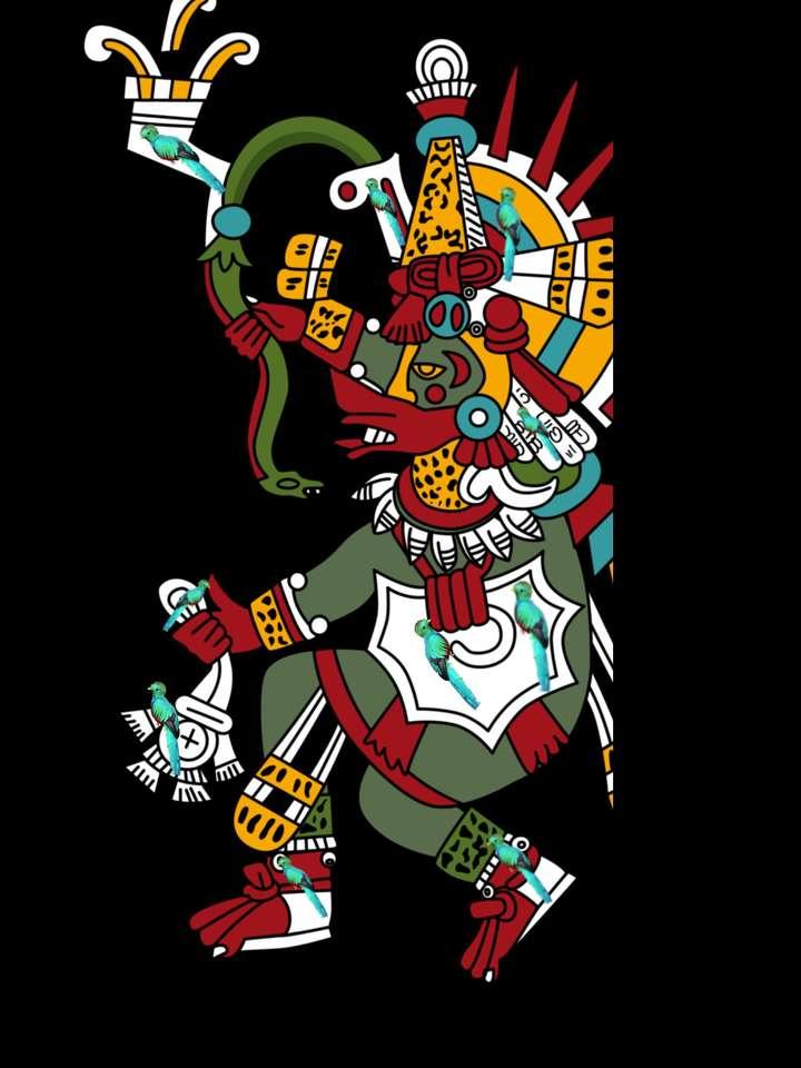 Quetzals in Quetzalcoatl puzzle online