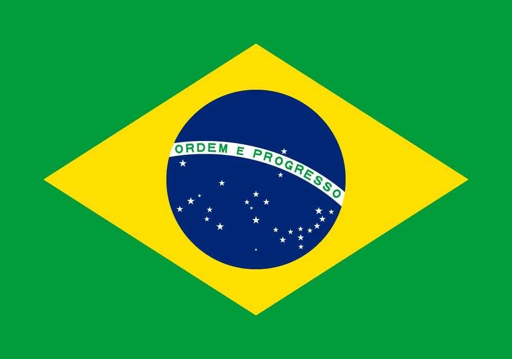 Flaga Brazylia. puzzle