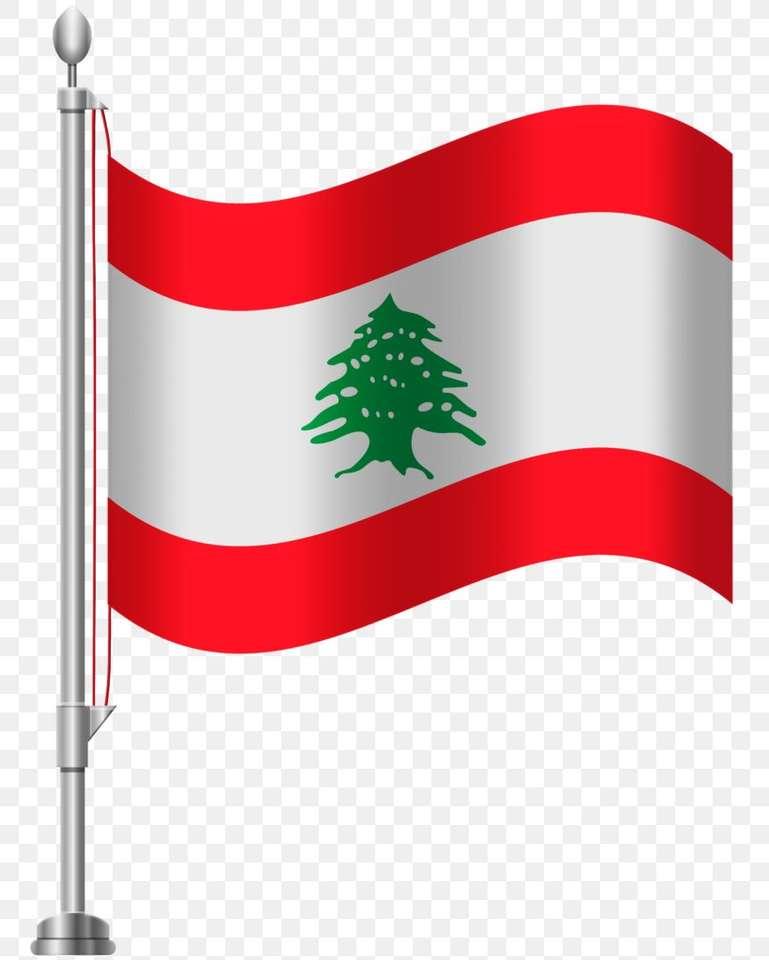 Flaga Libańska