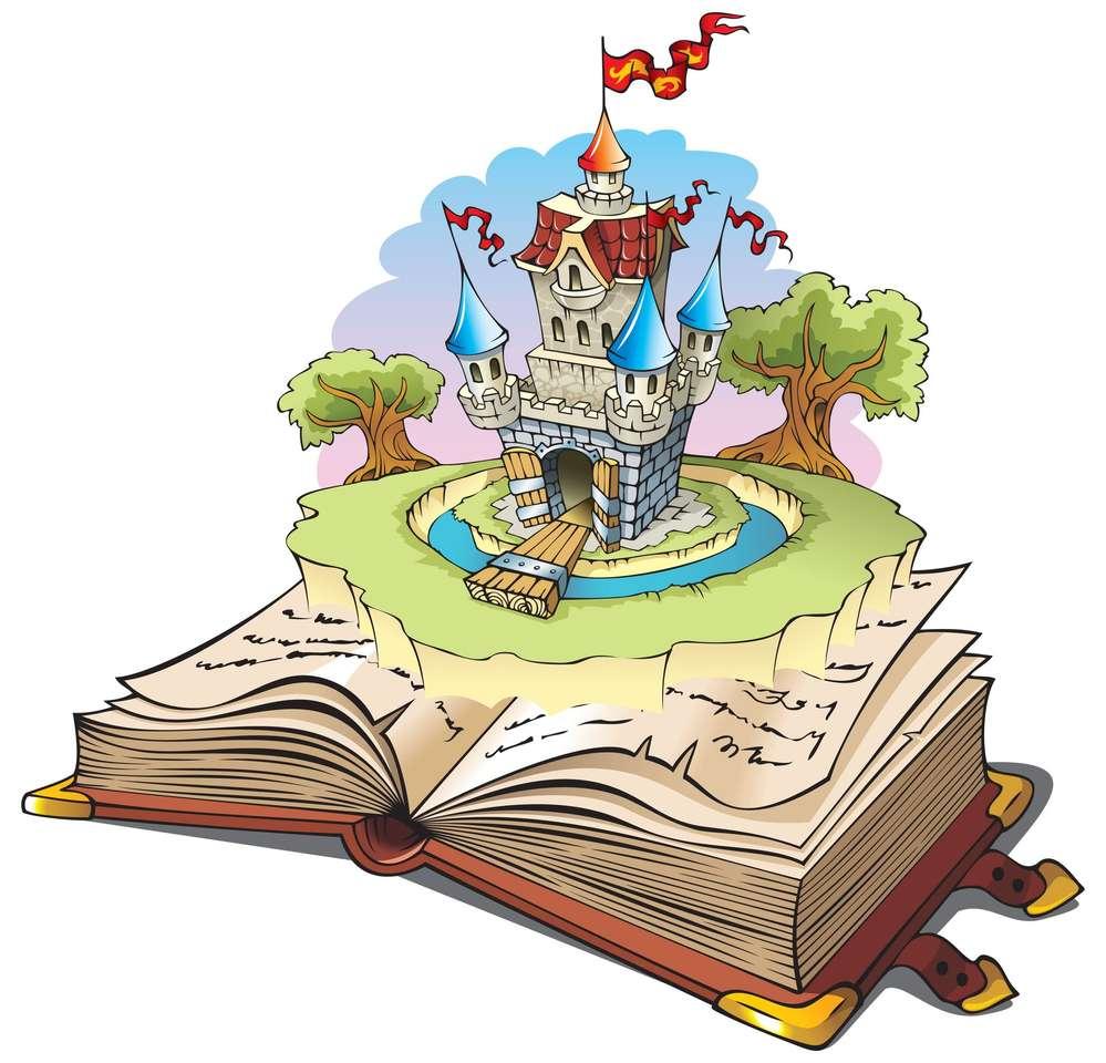 Zamek w książce