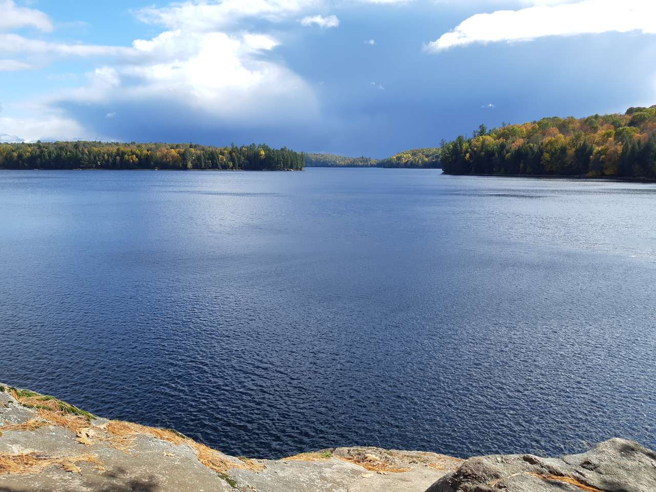 St Nowa Lake. puzzle ze zdjęcia