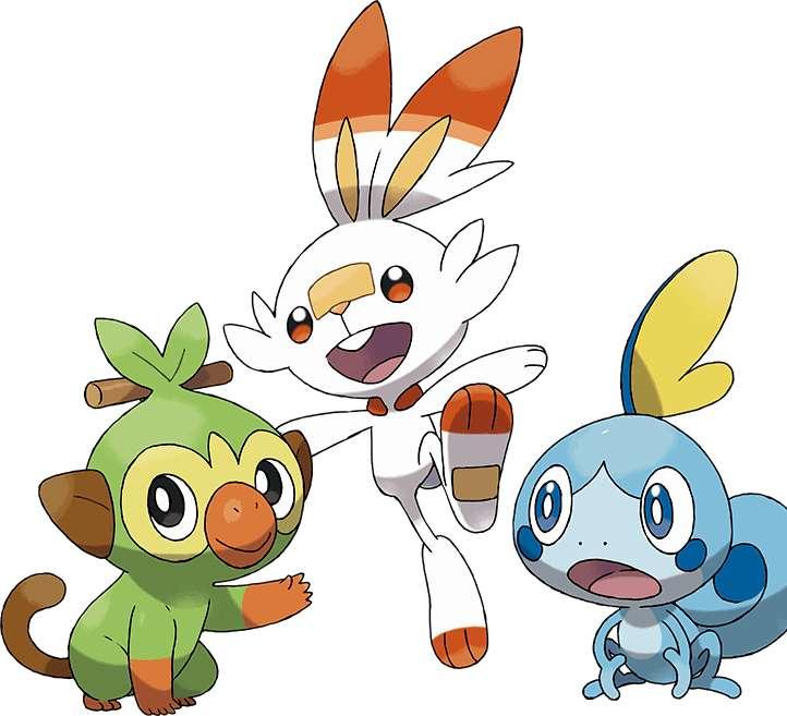 Zwierzęta pokemonowe