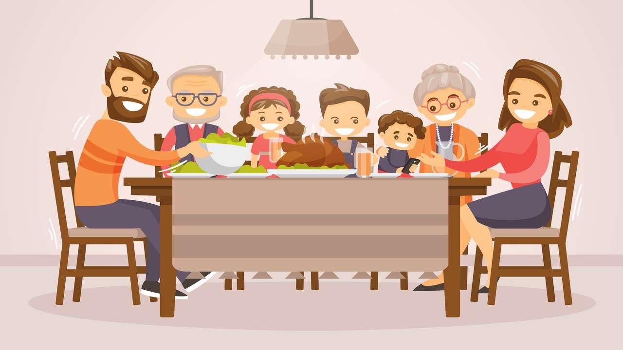 Rodzinne święta dziękczynienia