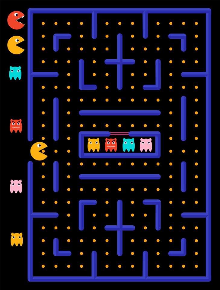 Plansza do gry w Pac-man