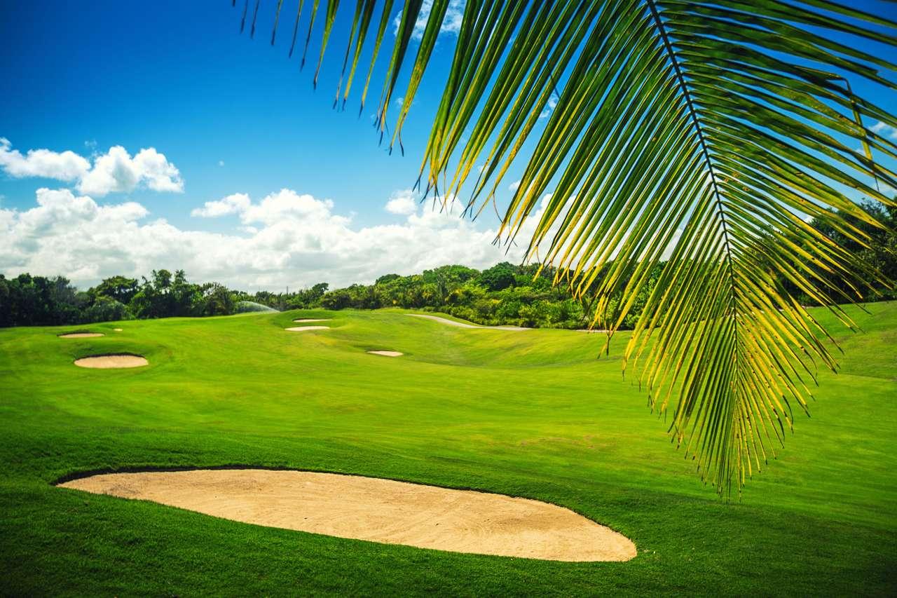 Pole golfowe na Dominikanie