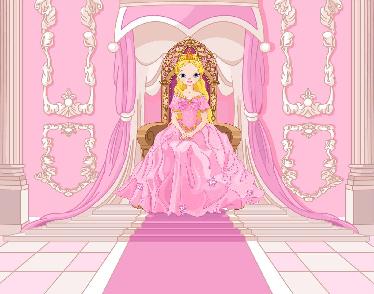 Księżniczka na tronie