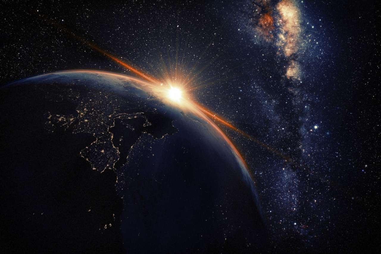 Widok z kosmosu