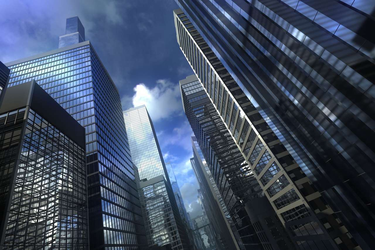 Wysokie budynki