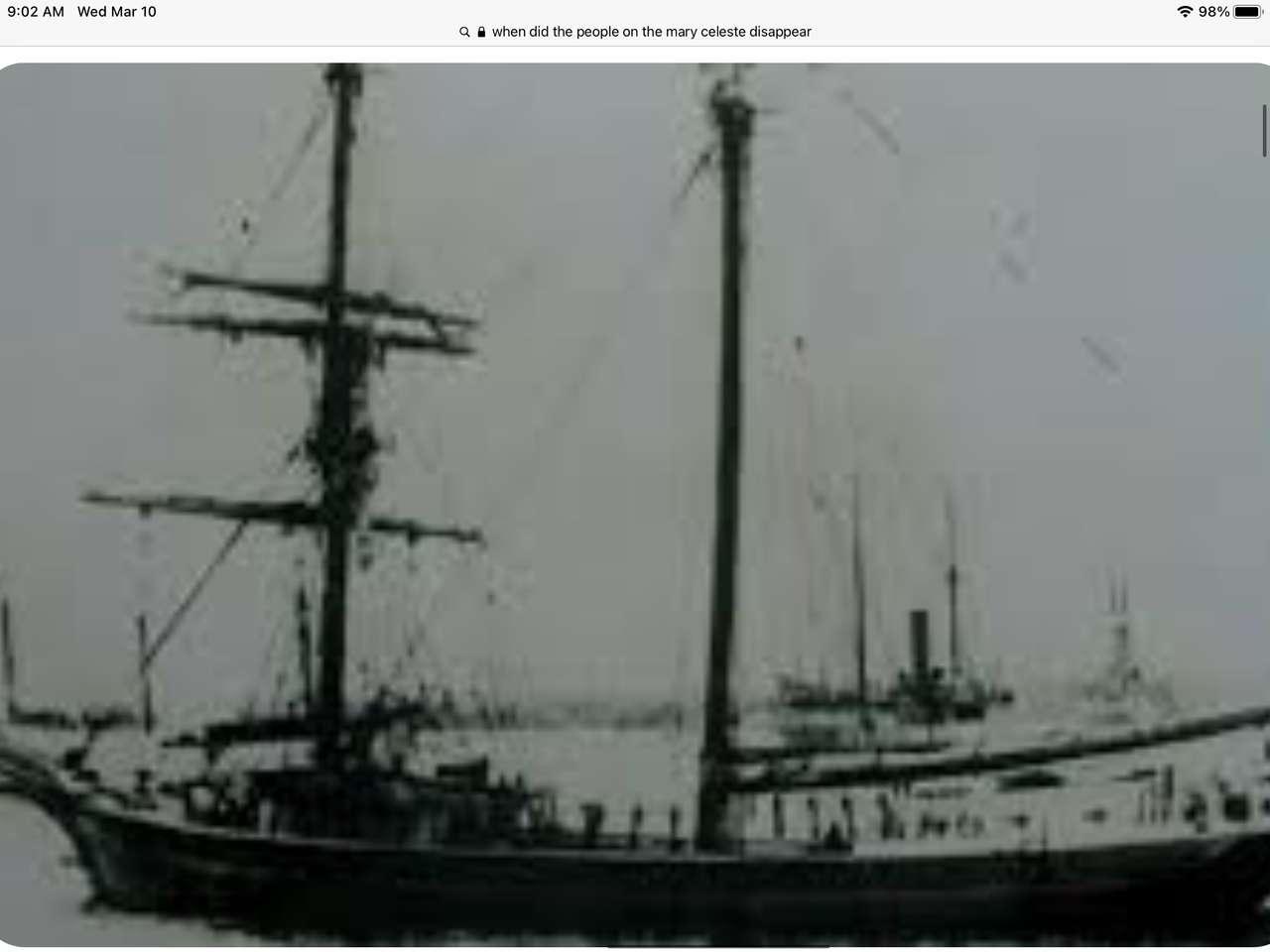 Mary Celeste.