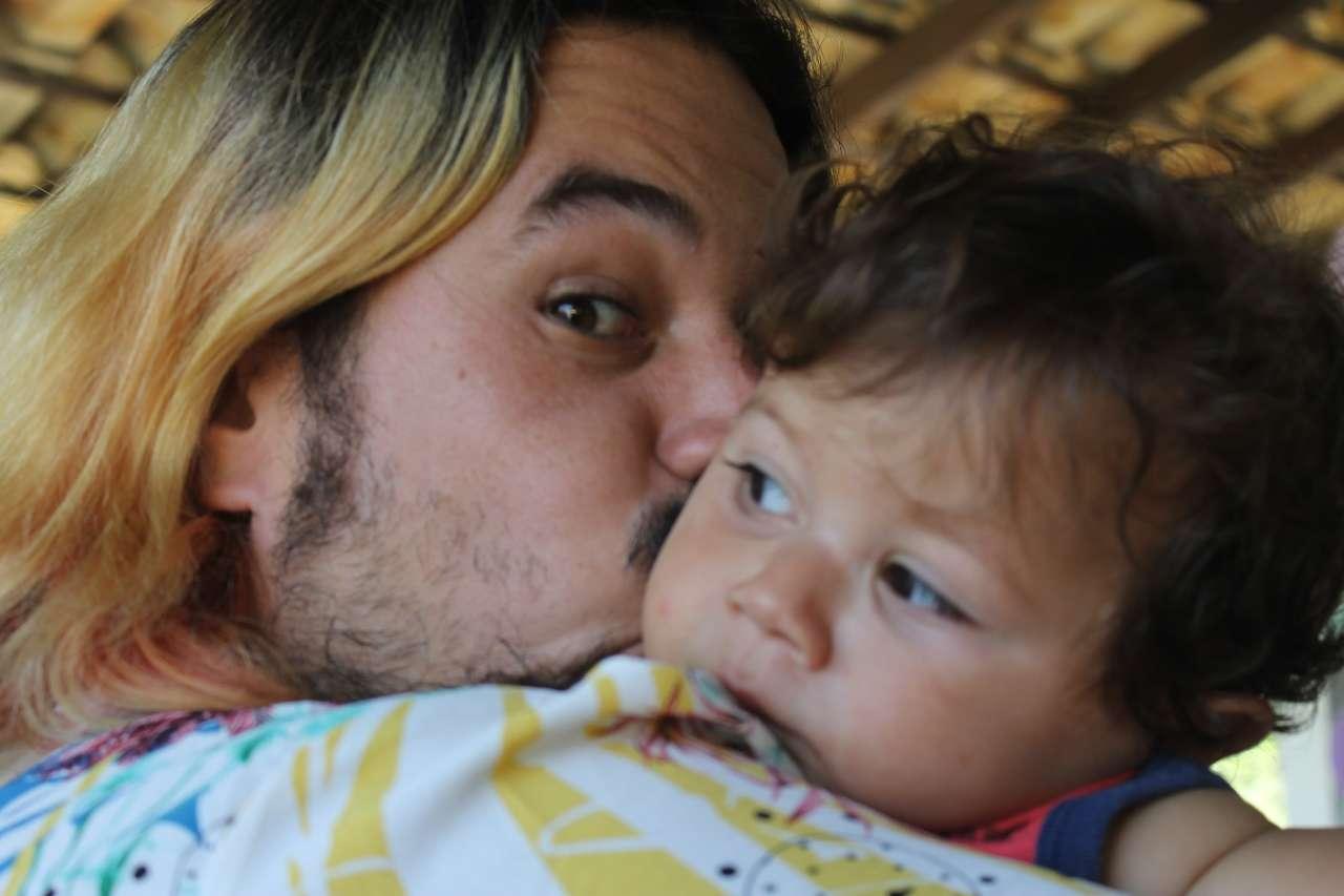 Rodolfo e sobrinho.