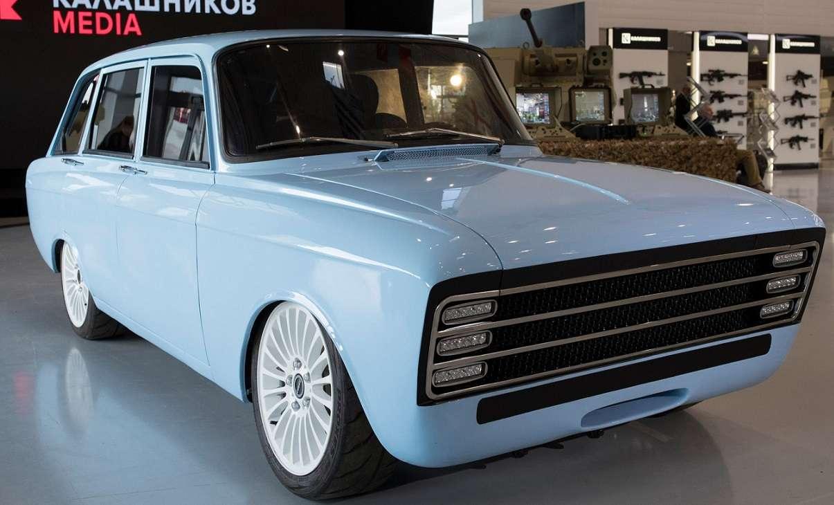 Eksperymentalny rosyjski pojazd elektryczny