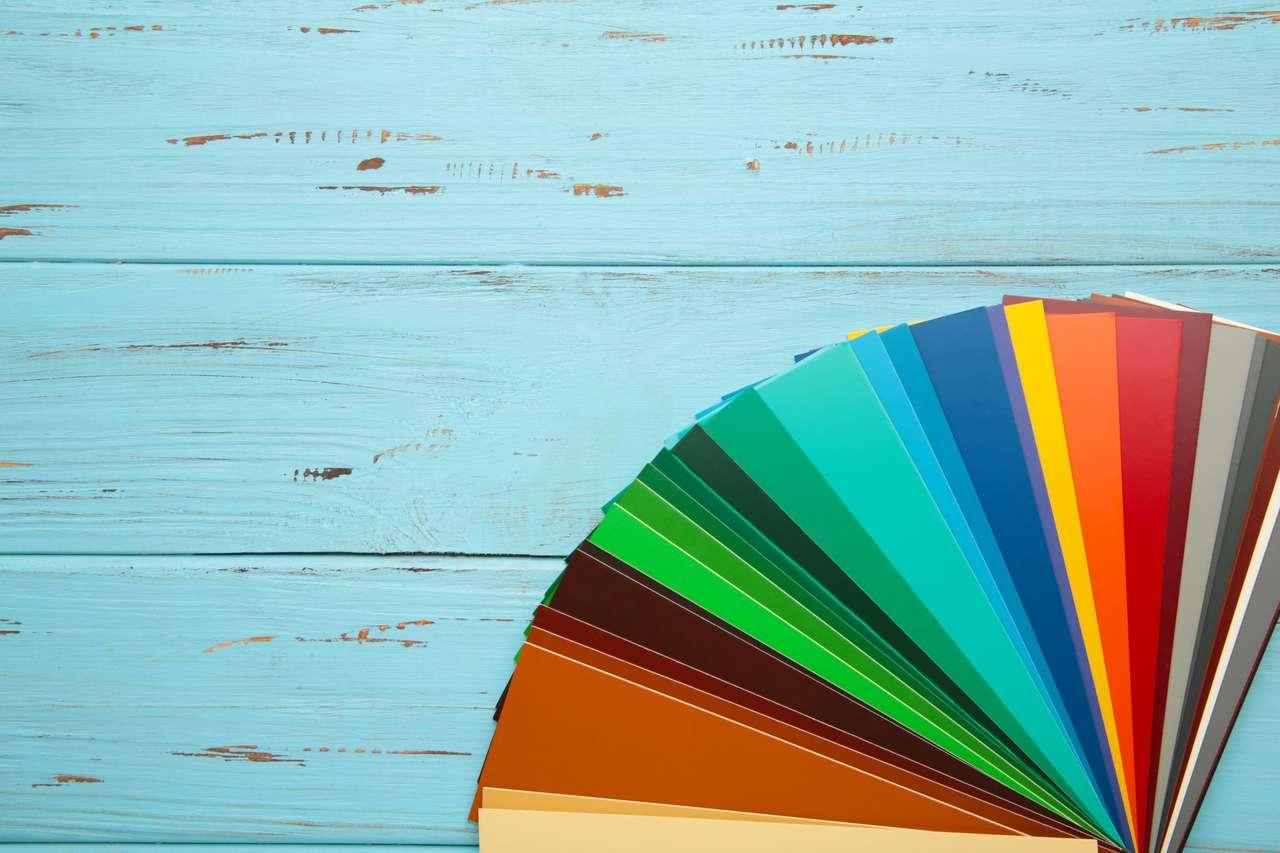 kolory tęczy puzzle online