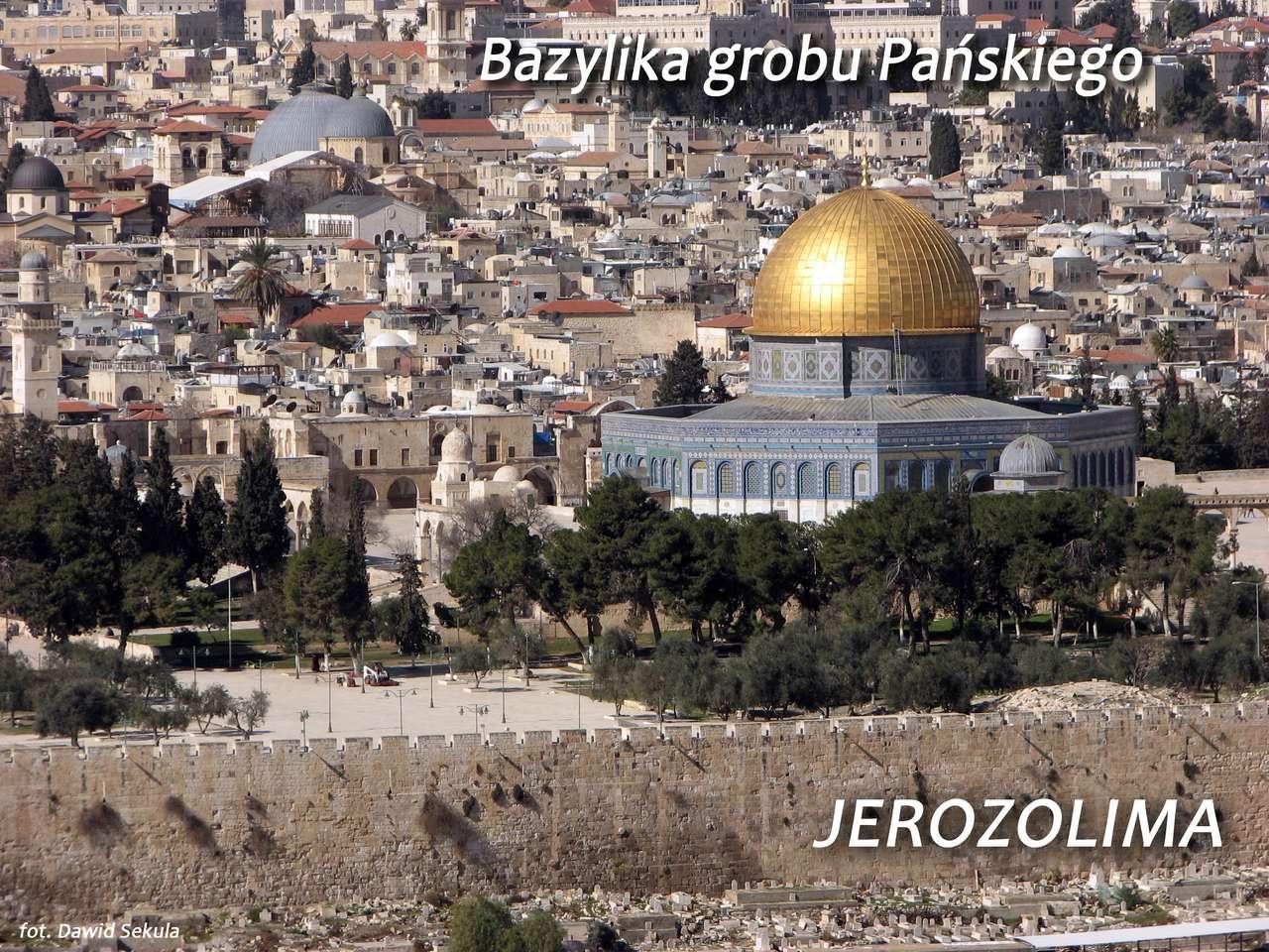 Jerozolima - Bazylika grobu Pańskiego puzzle online