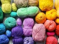 Kolorowe włóczki